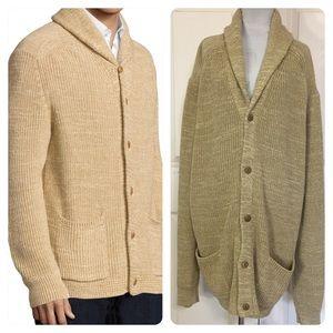 NWT! Polo Ralph Lauren Cotton-linen Cardigan